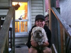 dog walker for KatyK9, Erin Oughton