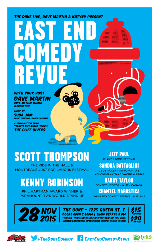 Kids in the Hall alum Scott Thompson headlines East End Comedy Revue